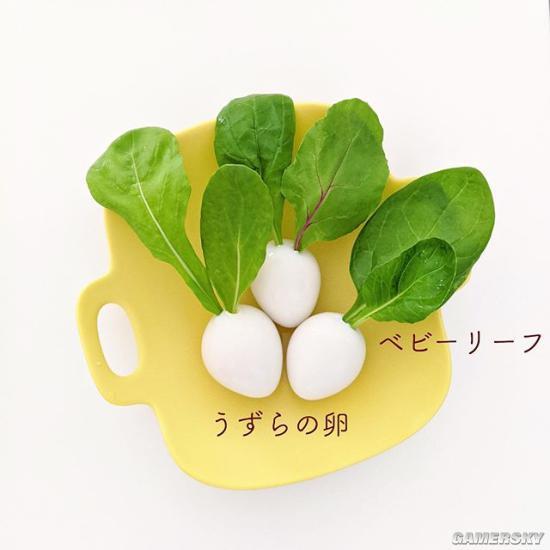 这大头菜多少钱?网友打造《集合啦!动物森友会》激萌料理
